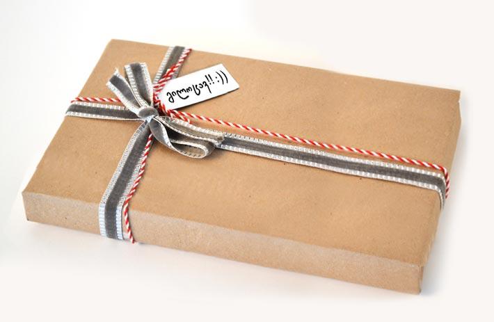 სასაჩუქრე და ტექსტი + 20 ლარი