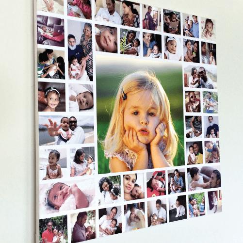 pvc collage